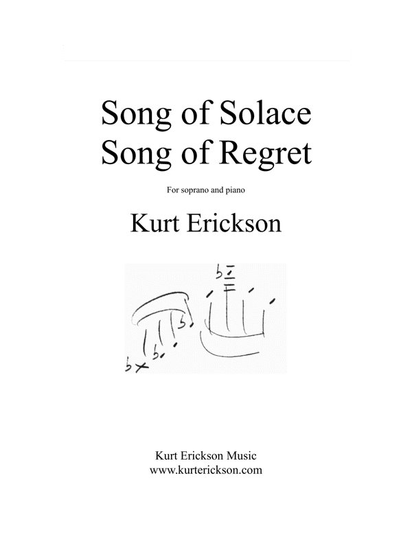Kurt Erickson Song-of-Solace-Song-of-Regret