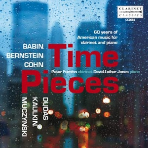 Clarinet Classics Time Pieces Clarinet and Piano