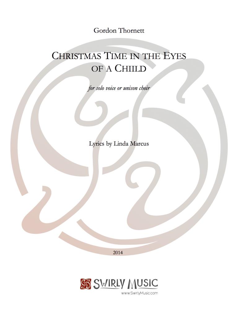 GTT-001 Thornett Christmas Time in the Eyes of a Child solo voice