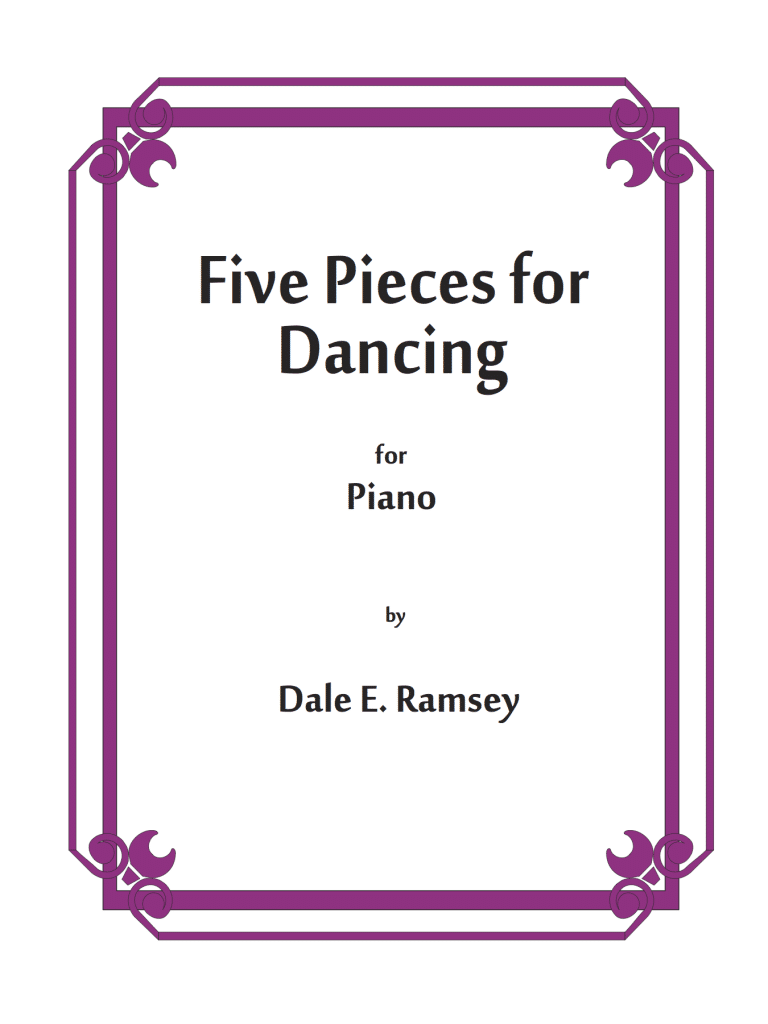 DRY-011 Dale Ramsey Five Pieces for Dancing