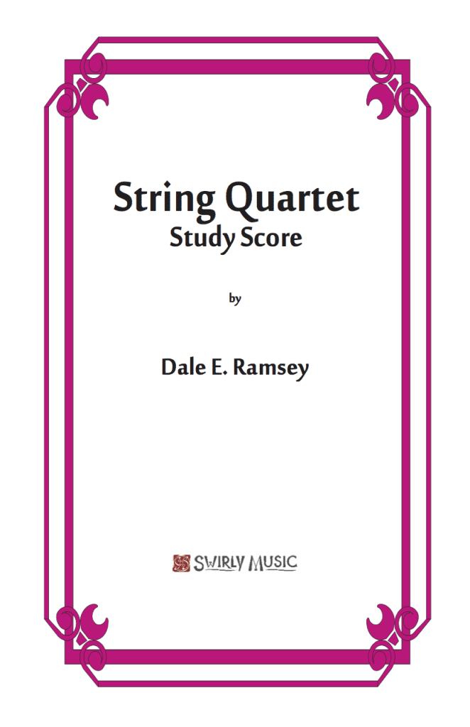 DRY-015 Dale Ramsey String Quartet Study Score