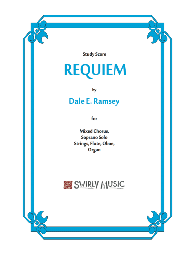 DRY-017 Dale Ramsey Requiem Study Score