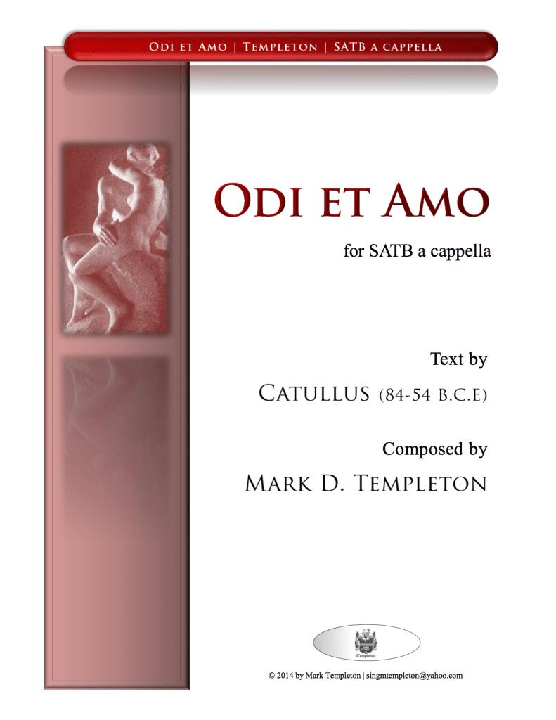 MTN-001 Odi-et-Amo-Mark-Templeton