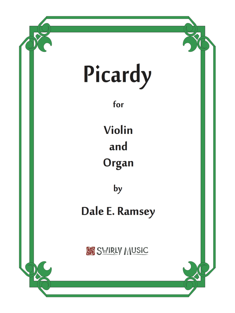 DRY-019 Dale Ramsey Picardy for Organ and Violin