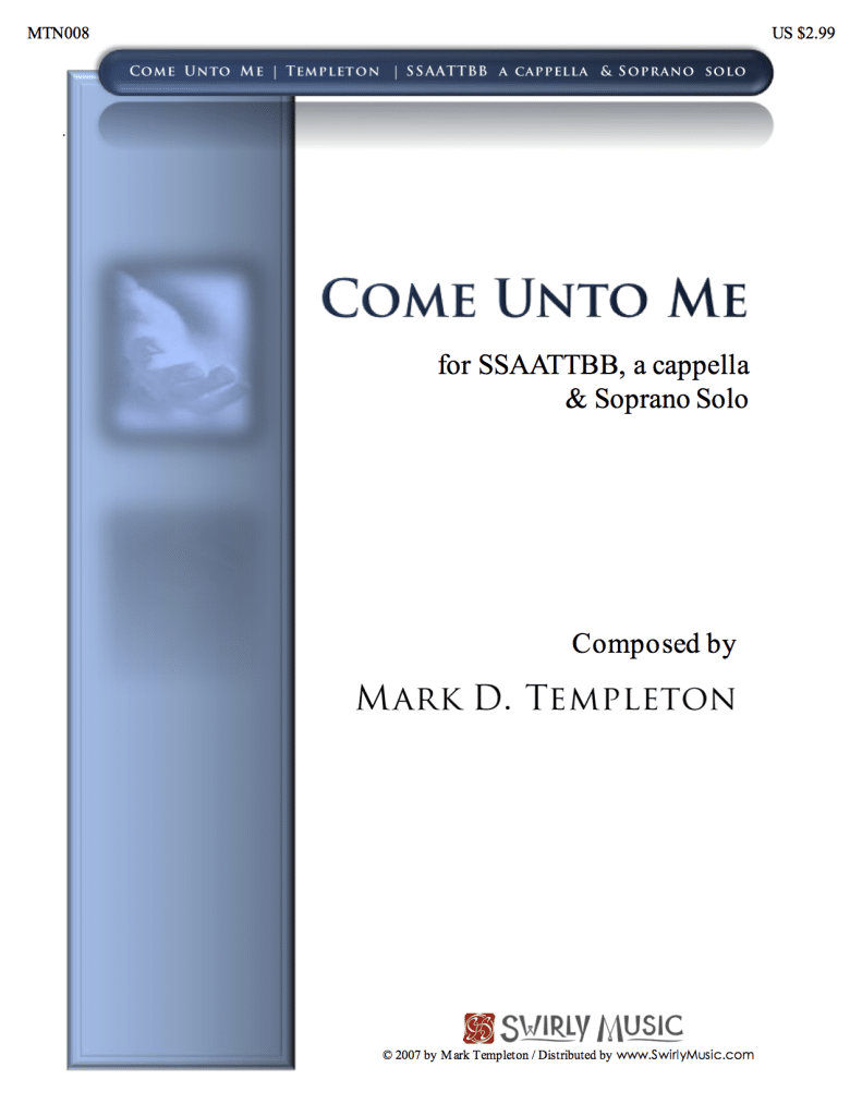 MTN008-Come-Unto-Me-Mark-Templeton-Swirly-Music