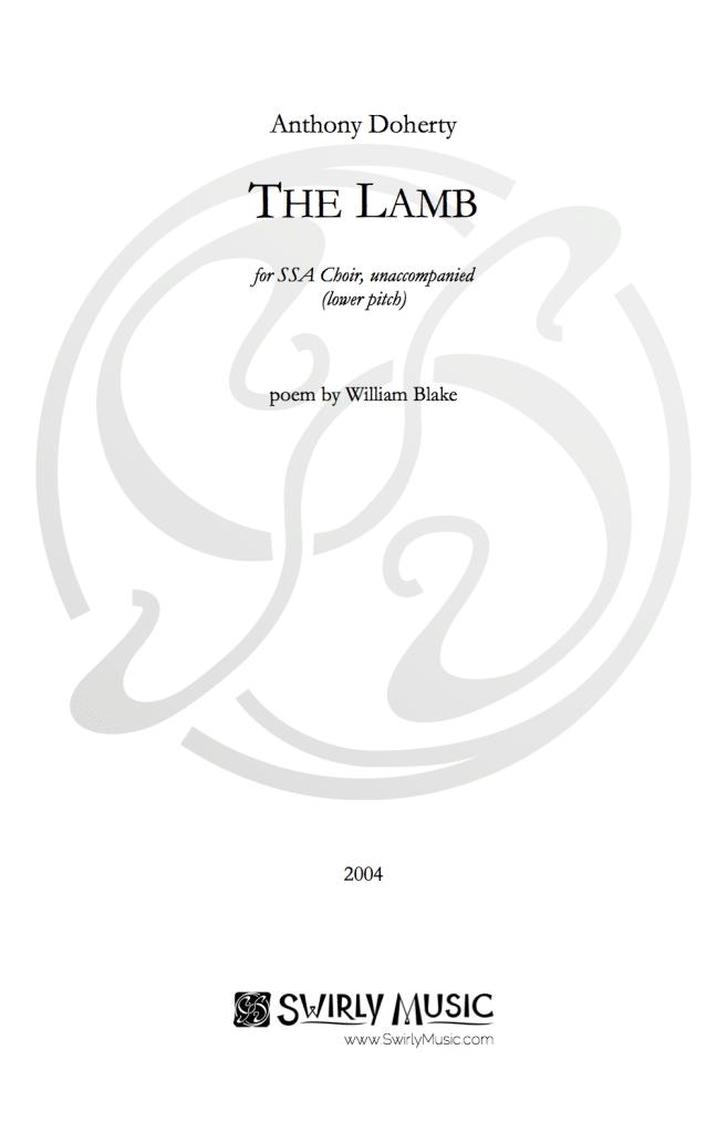 ADY-002 The Lamb SSA Lower Pitch