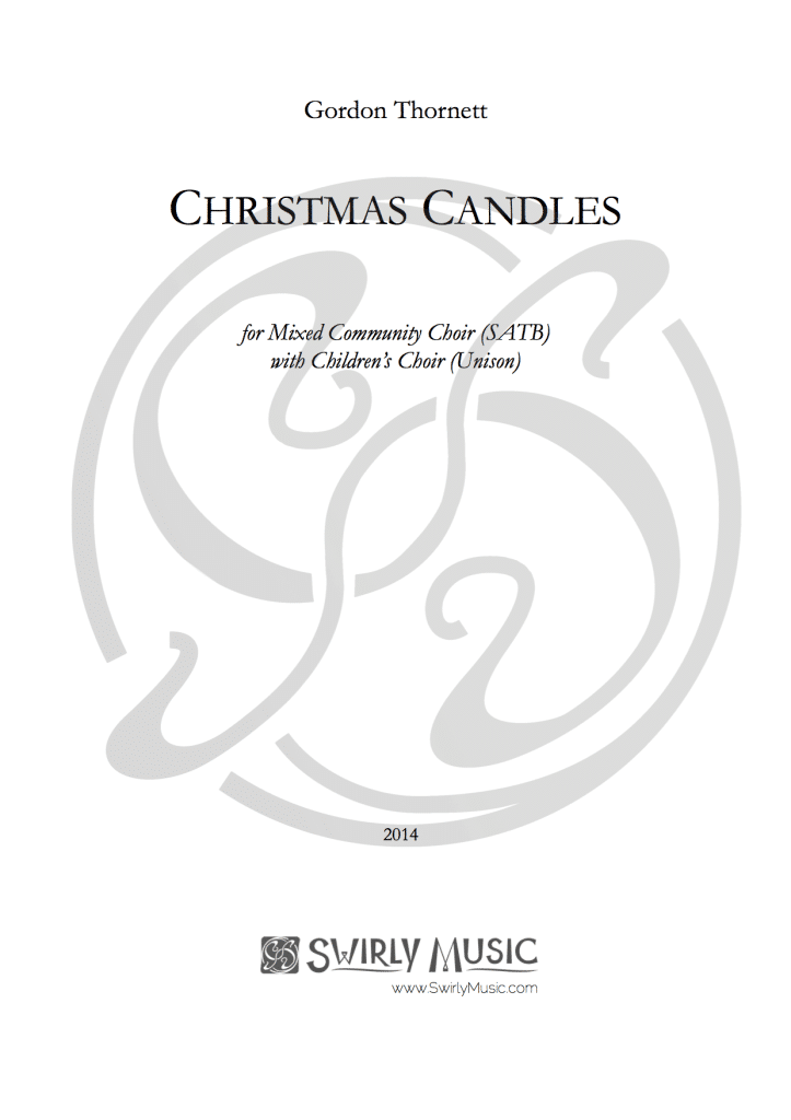 GTT-012 Gordon Thornett Christmas Candles