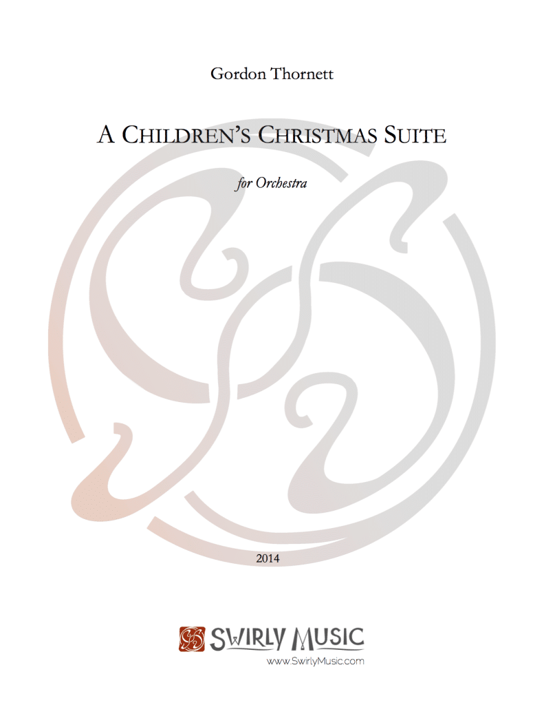 GTT-013 Gordon Thornett Childrens Christmas Suite