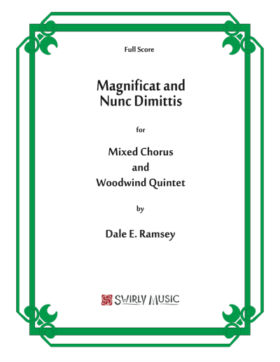 DRY-021 Dale Ramsey Magnificat and Nunc Dimitis