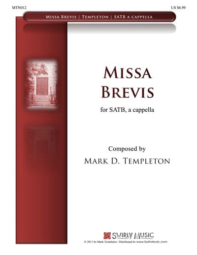 MTN012-Missa-Brevis-Mark-Templeton complete work