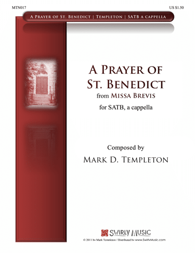 MTN017-A-Prayer-of-St.-Benedict-Mark-Templeton-Swirly-Music