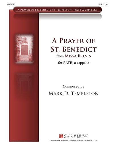 MTN017-A-Prayer-of-St.-Benedict-Mark-Templeton-Swirly-Music