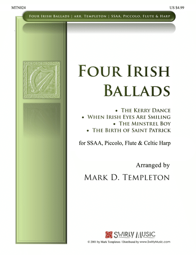 MTN024-Four-Irish-Ballads-Mark-Templeton-Swirly-Music