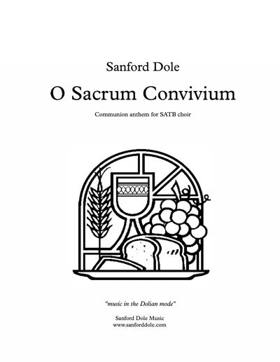 SDE-008 Sanford Dole O Sacrum Convivium SATB