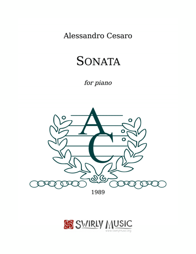 ACO-002 Sonata for Piano