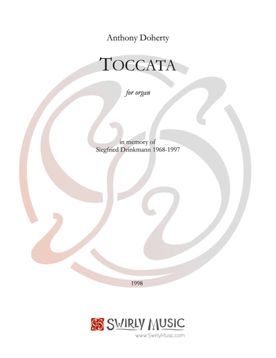 ADY-010 Tocatta for Organ