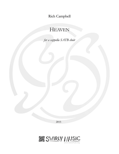 RCL-007 Rich Campbell Heaven SATB