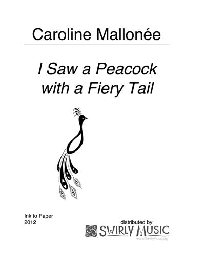 CME-003 Caroline Mallonée I Saw a Peacock