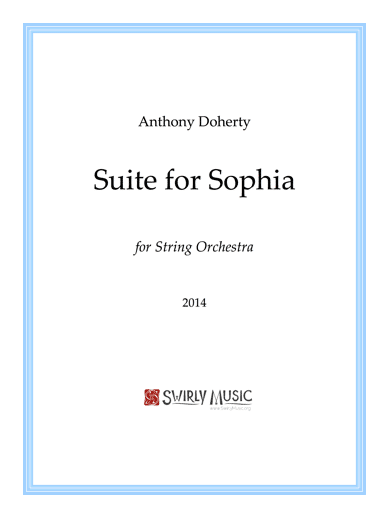 ADY-013 Suite for Sophia full score