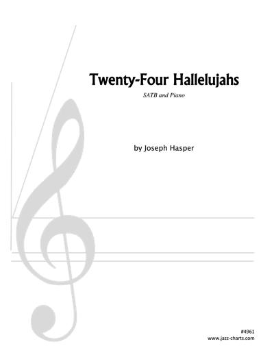 JHR-4961 Twenty-Four Hallelujahs