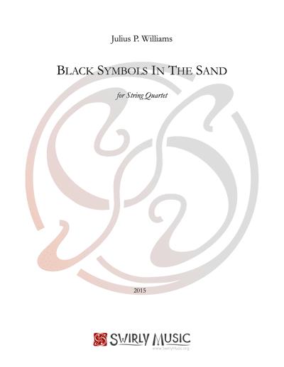JWS-004 Black-Symbols string quartet score