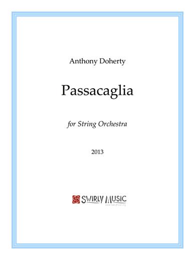 ADY-019 Passacaglia Score