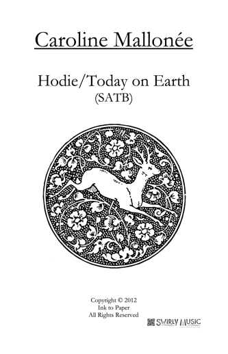 CME-004 Hodie Today on Earth