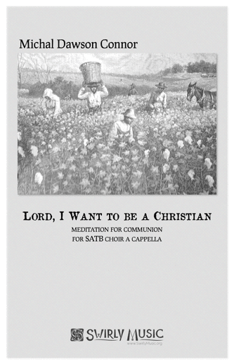 MDC-022 Lord I Want To Be a Christian cover