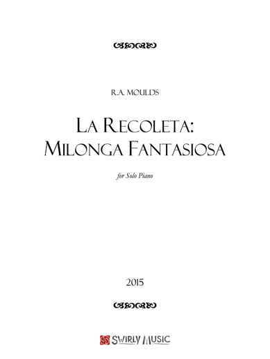 RAM-92 La Recoleta- Milonga Fantasiosa
