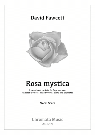 CHR-1504VS Rosa Mystica vocal score