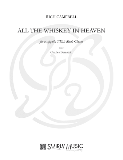 RCL-010 All the Whiskey in Heaven