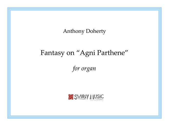 ADY-039 Fantasy on Agni Parthene