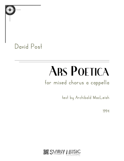 DPT-008 Ars Poetica