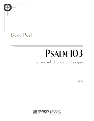 Psalm 103 cover