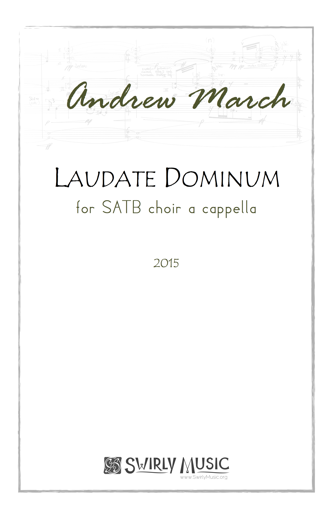 Andrew March Laudate Dominum cover