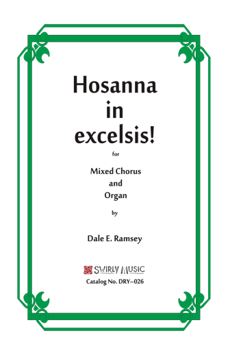 DRY-026 Hosanna in excelsis