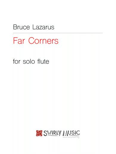 BLS-001 Bruce Lazarus Far Corners solo flute