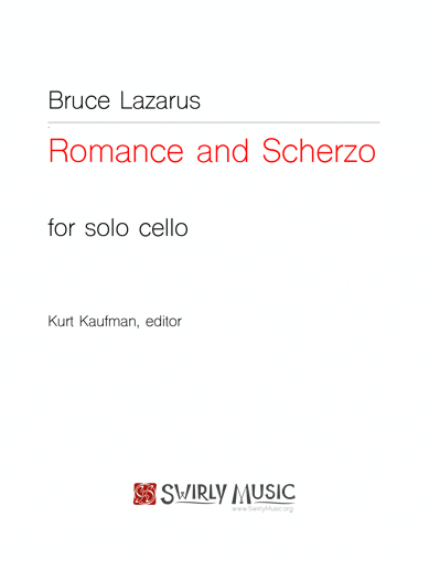 BLS-012 Romance and Scherzo