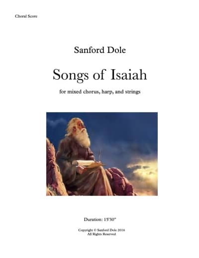 SDE-009 Songs-of-Isaiah-Choral-Score-Choral-Score
