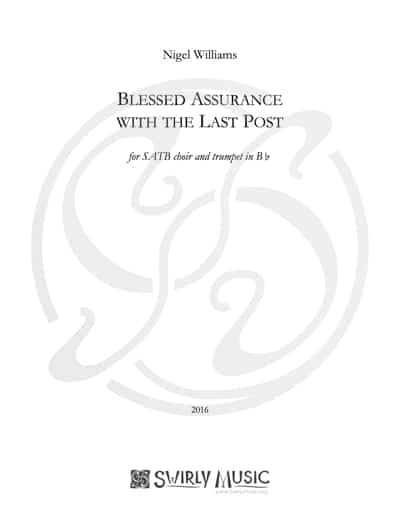 NWS-011 Blessed Assurance (SATB) The Last Post