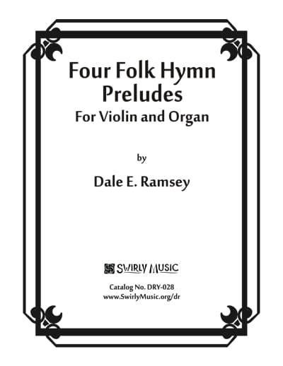 DRY-028 Four-Folk-Hymn-Preludes Score