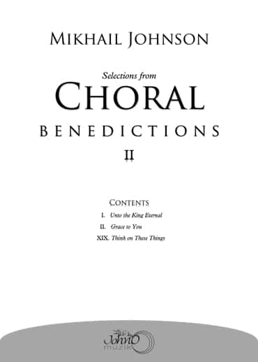 JMK-007 Selections-from-Choral-Benedictions-II-merged