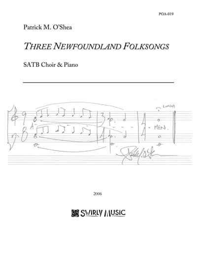 POA-019 Three Newfoundland Folksongs