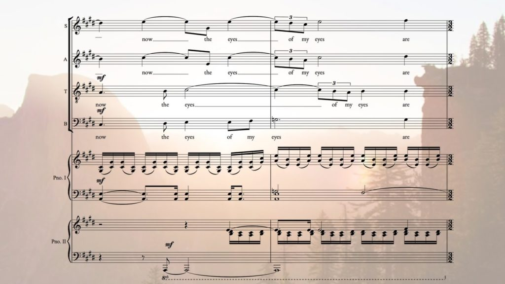 Score Videos for Composers