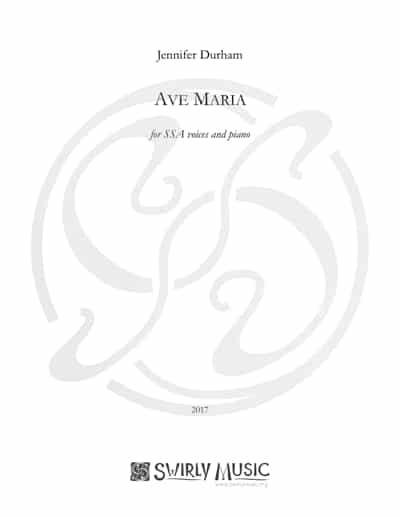 JDM-006 Ave-Maria-SSA-Durham