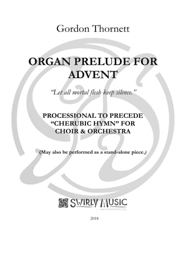 GTT-029 Advent Prelude for Organ