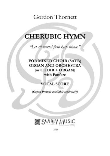 GTT-028a Cherubic Hymn vocal score