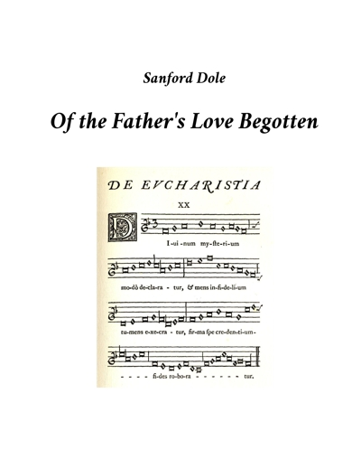 SDE-010 Of the Father's Love
